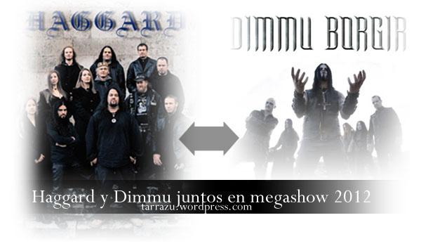 Setlist de Haggard y Dimmu Borgir previo a su gira latinoamericana 2012 (1/2)
