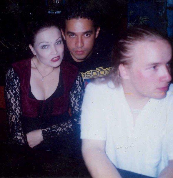 Oscar junto a Tarja- panamá 2000