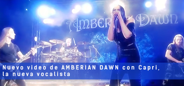 amberian dawn new singer official video