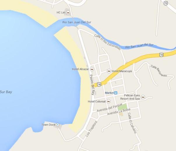 mapa san juan del sur fsl 2014
