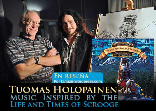 tuomas holopainen review 2014 life times scrooge