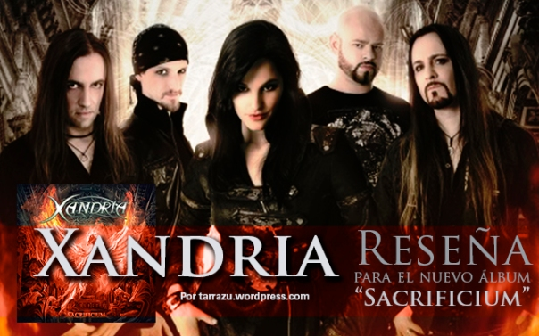 xandria review 2014 sacrificium tarrazu