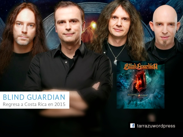 blind guardian en costa rica 2015