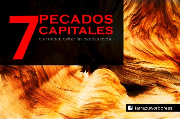 7 pecados capitales metal bandas