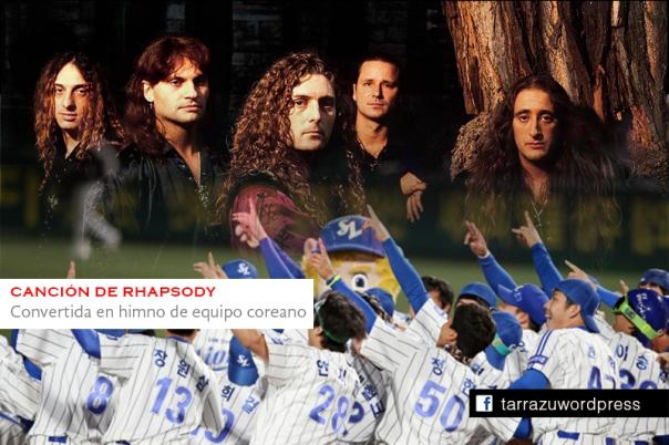 cancion rhapsody himno equipo coreano baseball